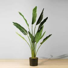 Artificial Potted Plant <b>BOHO</b> - <b>Bird</b> Of Paradise, 43'' - Artificial Potted ...