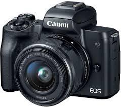 Купить <b>фотоаппарат Canon EOS M50</b> 15-45 IS STM black в ...