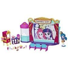 <b>Набор мини-кукол Equestria Girls</b> 'Кинотеатр' My Little Pony ...