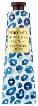 <b>Крем</b>-<b>масло для рук</b> The Saem <b>Perfumed</b> hand shea butter Clean ...