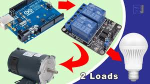 How to use <b>2 channel relay</b> to control AC and DC loads in Arduino ...