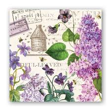 <b>Michel Design Works Lilac</b> and Violets