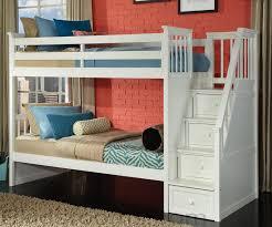 kids bunkbed sets white