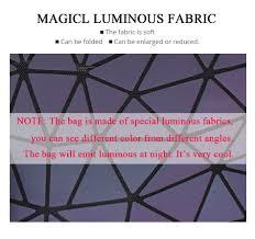 Модный женский <b>рюкзак</b> Mochila, <b>геометрические светящиеся</b> ...
