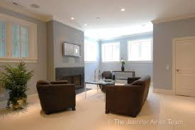 view full size jennifer ames realty chic basement living room space blue gray paint color walls blue grey paint colors view