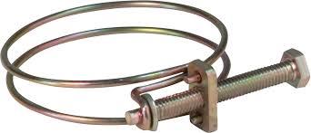 <b>Хомут обжимной проволочный</b>, инструм.сталь <b>31-35</b> мм ХВАТ ...