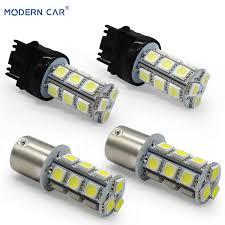 Online Shop <b>MODERN CAR 2pcs</b> P21W 5050 18smd <b>Car</b> LED Light ...