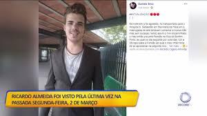 Jovem desaparecido em Santa Maria da Feira