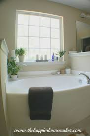 image bathtub decor: decorating around a bathtub the happier homemaker