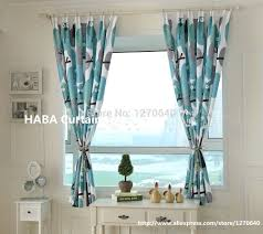 Owl Bedroom Curtains Bedroom Curtains 63 Inches Long