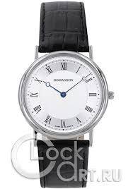 <b>Romanson</b> Adel <b>TL5110SMW</b>(<b>WH</b>) - Настенные <b>часы</b>
