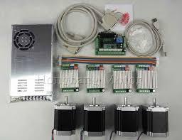 <b>CNC Router 4</b> Axis Kit,TB6600 <b>4</b> Axis stepper motor driver+<b>mach3</b> 5 ...