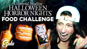 Ultimate Universal <b>Halloween Horror</b> Nights Food Challenge: Trying ...