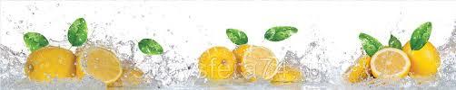 """<b>Кухонный</b> фартук <b>ПВХ</b> """"Лимонная <b>свежесть</b>"""" 0,6*3м: продажа ..."""