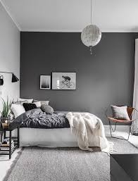 master bedroom feature wall: contrast wall bedroom grey bedroom feature wall grey room decor bedroom bedroom thegoodsheet grey bedroom dark gray accent wall bedroom feature wall