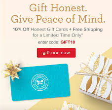 honest company gift certificate % off shipping screen shot 2015 12 21 at 6 21 45 pm