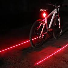 <b>5 LED Bike</b> Rear Tail Lamp Cycling Bicycle Safety Flashing Warning ...