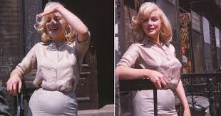 1960 Fox Studios photos appear to show Marilyn Monroe pregnant ...