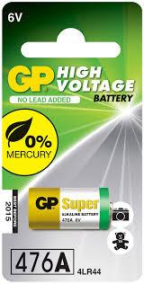"""<b>Батарейка</b> высоковольтная """"<b>GP</b> Batteries"""", тип 476А, 6В — купить ..."""