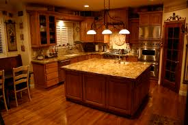 kitchen cabinets with granite countertops: kitchengranite countertop on l shaped kitchen cabinets fit with glossy wooden material and its