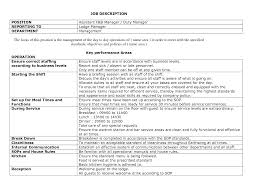best photos of manager on duty report template general manager shift manager job description