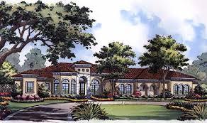 Mediterranean Luxury Home Plan   HD   st Floor Master Suite     hd e  Plan HD