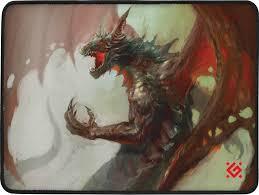 Игровой <b>коврик</b> для мыши <b>Defender Dragon</b> Rage, 50558, черный ...