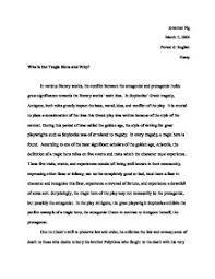 definition of hero essay  odolmyfreeipme who is the tragic hero and why antigone gcse classics who is the tragic hero and