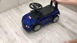 Машина- <b>каталка</b> Bentley. - YouTube