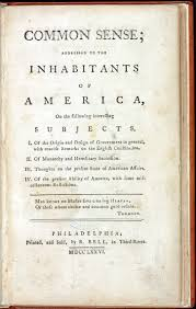 to books that shaped america exhibitions library thomas paine 1737 1809 common sense philadelphia r bell 1776 american imprint collection rare book and special collections division