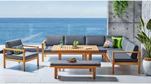 Buy Bay <b>7</b>-<b>Piece Outdoor</b> Mid-height Lounge/Dining Setting | Harvey ...