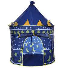 Outdoor Indoor Children's Portable Blue Game Tent | Gearbest