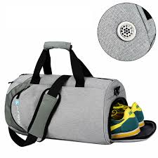 Waterproof sport <b>bags men</b> Large <b>Gym bag</b> with shoe compartment ...