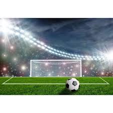 Online Shop Bright Stadium Soccer Field Scenery <b>Baby</b> ...