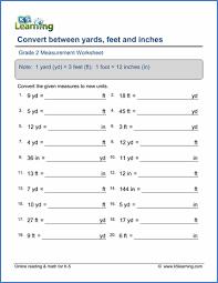 Grade 2 Measurement Worksheets - free & printable | K5 LearningGrade 2 Measurement Worksheet