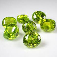 7 Pcs Apple Green Cubic Zirconia 70Cts Mixed <b>Shape</b> AAA Gemstone