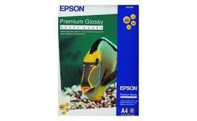 Глянцевая <b>фотобумага Epson Premium Glossy</b> A4 255g 20 листов