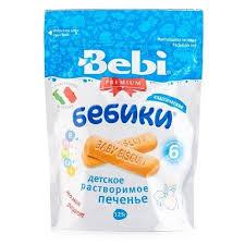 <b>Печенье Bebi Бебики классическое</b> в флоупаке от 6 месяцев ...