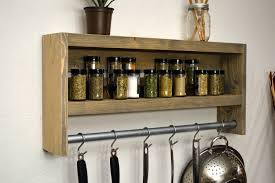 wall mounted stainless steel kitchen racks