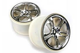 <b>TRAXXAS</b> запчасти Wheels, <b>SS</b> (<b>split</b> spoke) 3.8'' (chrome) (2) (fits ...