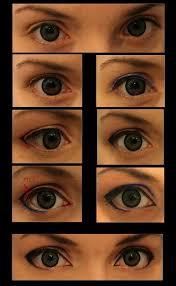 cosplay makeup anime guy eyes
