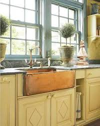hammered copper kitchen sink: kitchen fine looking copper kitchen sink copper kitchen sink with single hole faucet and
