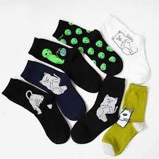 <b>Fashion Harajuku style</b> unisex street <b>fashion</b> cotton socks hip hop ...
