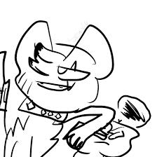 browsing fan art on annoying boss by spring locket