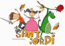Resultado de imagen de sant jordi dibuixos
