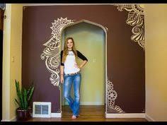 tree wall decor art youtube: painting my walls i moved youtube elsa rhae