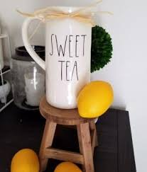 Rae Dunn <b>Sweet Tea Decal</b> | <b>Sweet tea</b>, Sweet, Tableware