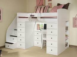slim space saver drawer heres another white wood bed this time with an extraordinary amount of