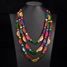 <b>Shell Statement Beaded</b> Costume Necklaces & Pendants for sale ...