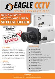 design a flyer for a special offer on sony cctv camera model fb 27 for design a flyer for a special offer on sony cctv camera model fb